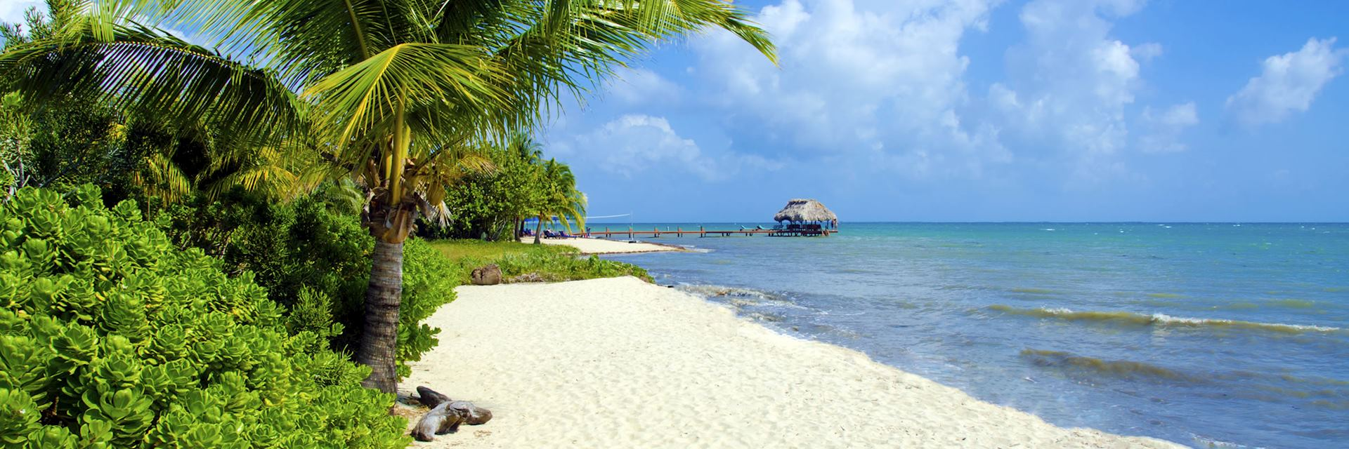 Beach in Placencia, Belize