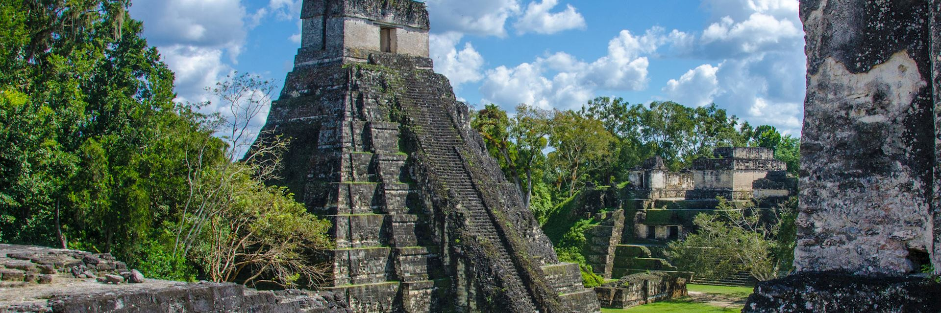 Tikal ruins and pyramids, Belize