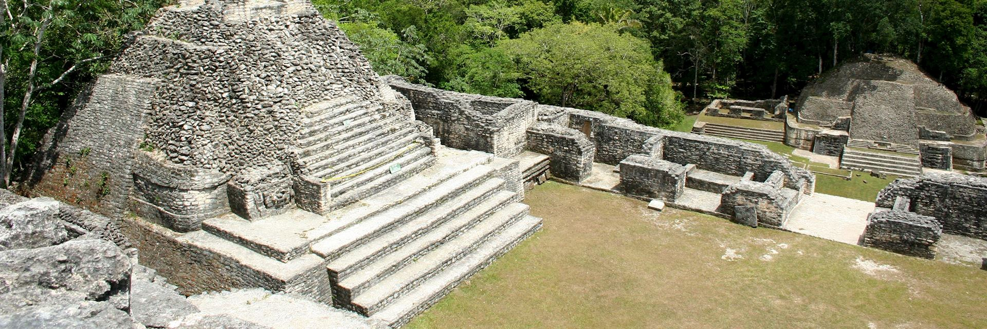 View from the top of Caana, Caracol and Belize's tallest buliding