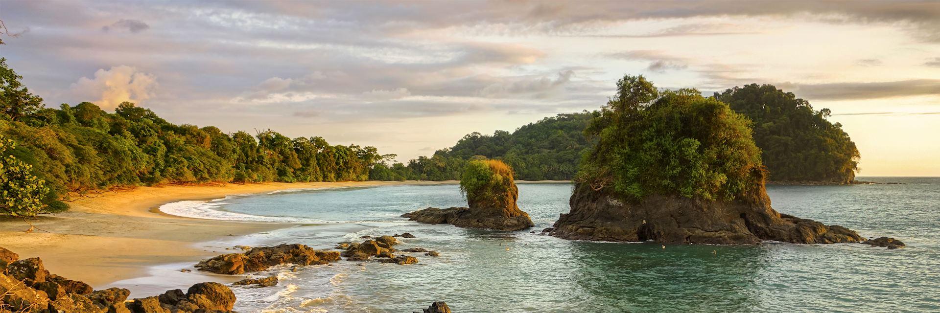 Manuel Antonio National Park coastline