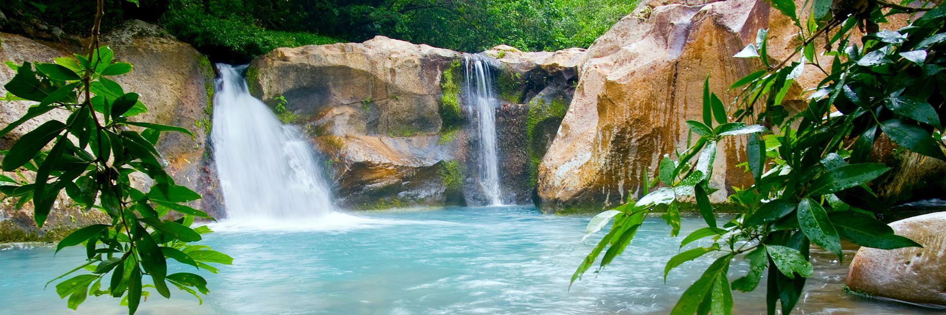 Waterfall at Rincón de la Vieja