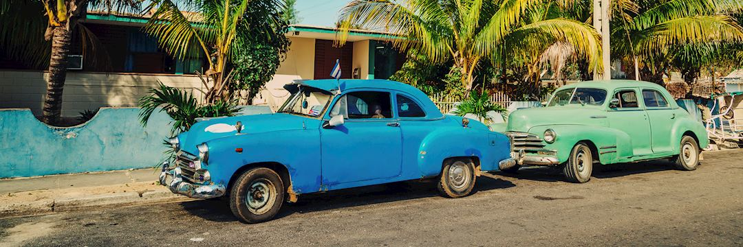 Vintage car in Havana