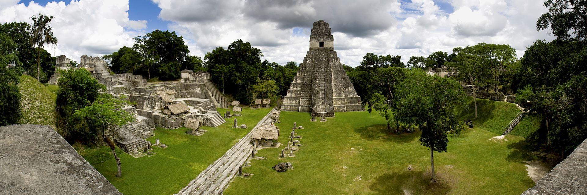 Panorama of Tikal