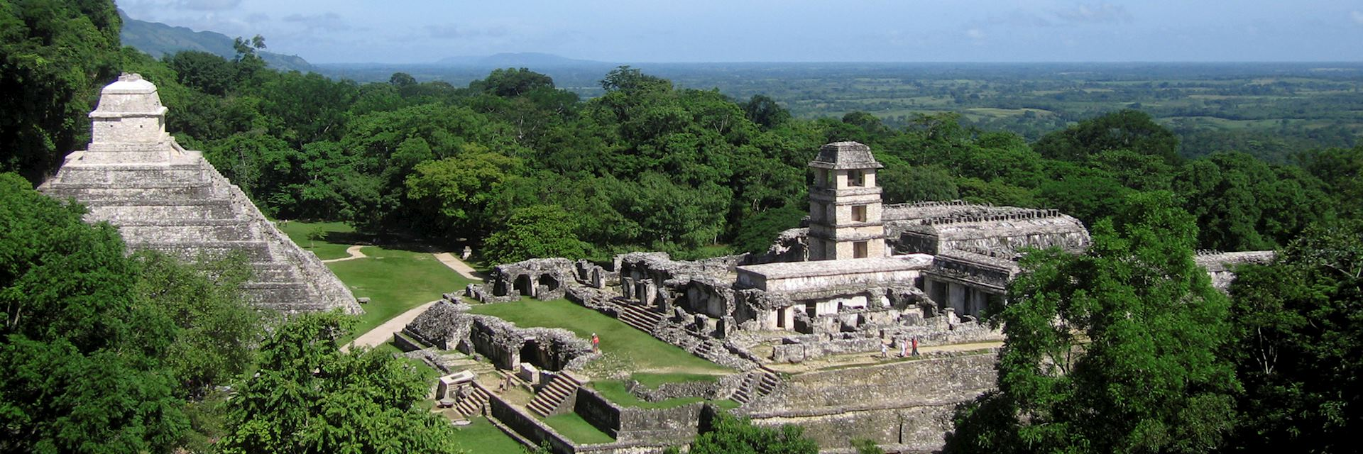 Maya temples of Palenque, Mexico