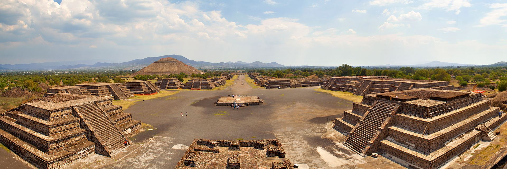 Teotihuacan Mayan ruins in Mexico