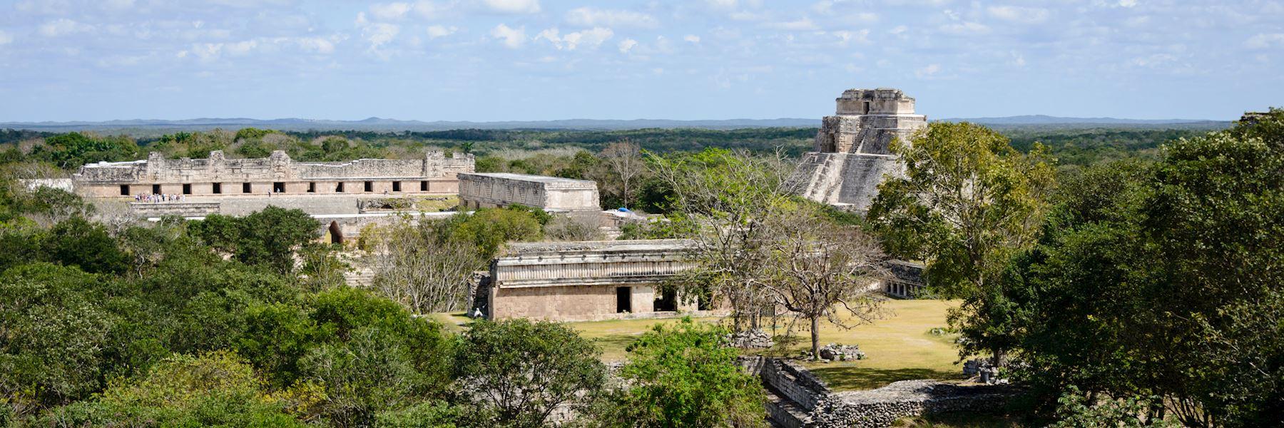 Visit Uxmal, Mexico