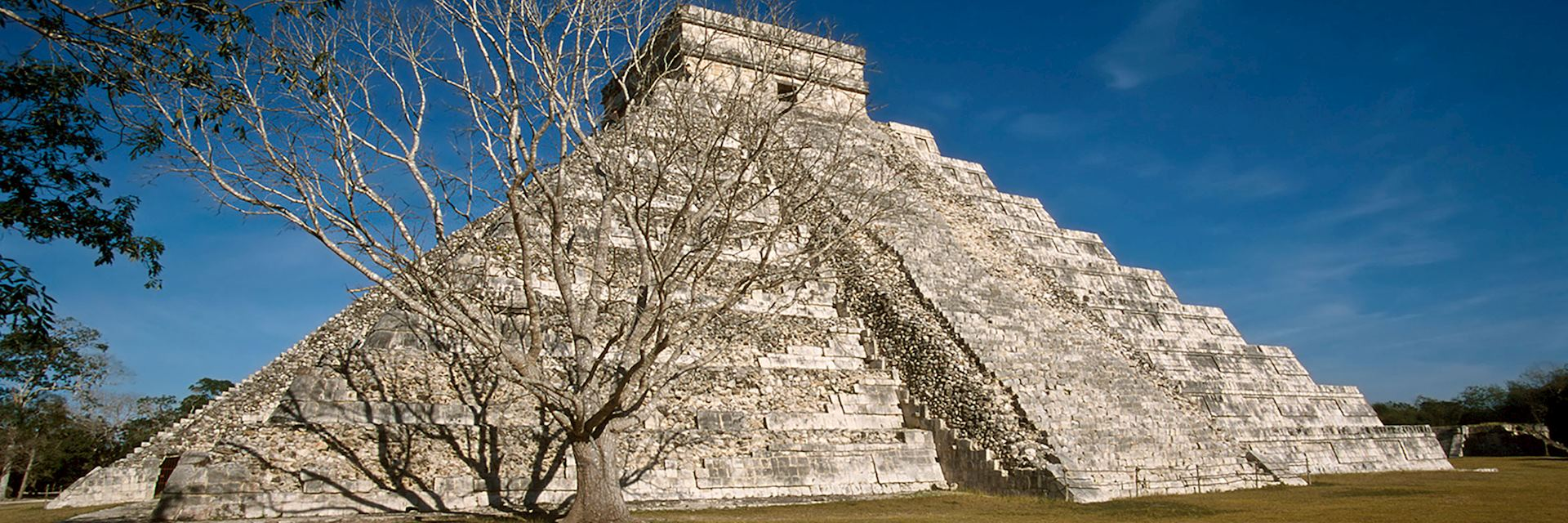 The Mayan ruins of Chichén Itzá, Mexico