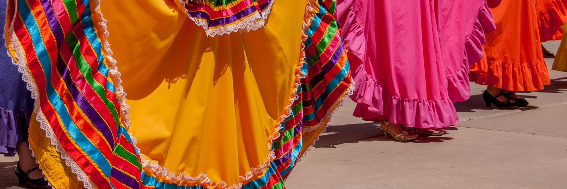 Local dancers in Mexico