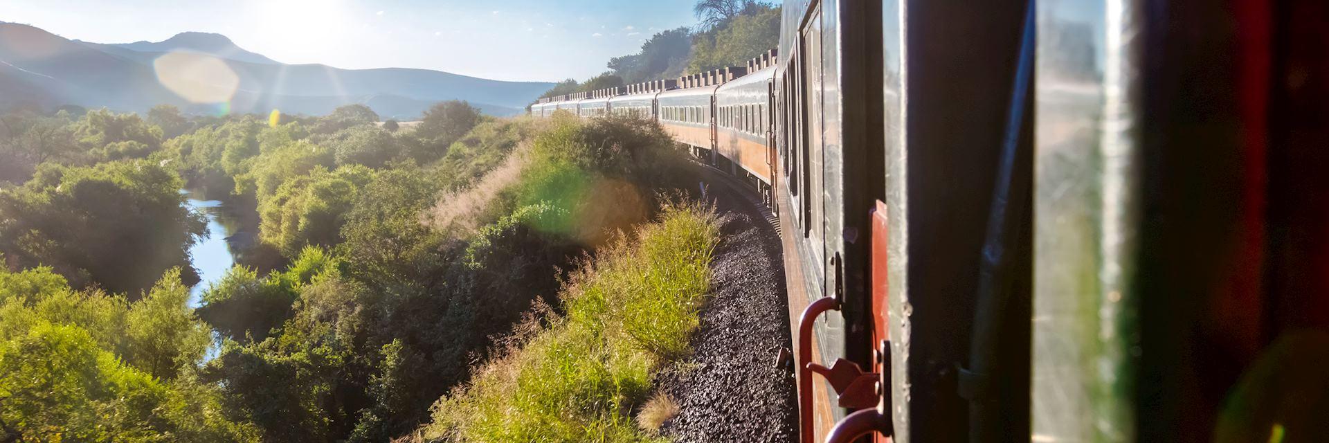 Chepe Train near Chihuahua