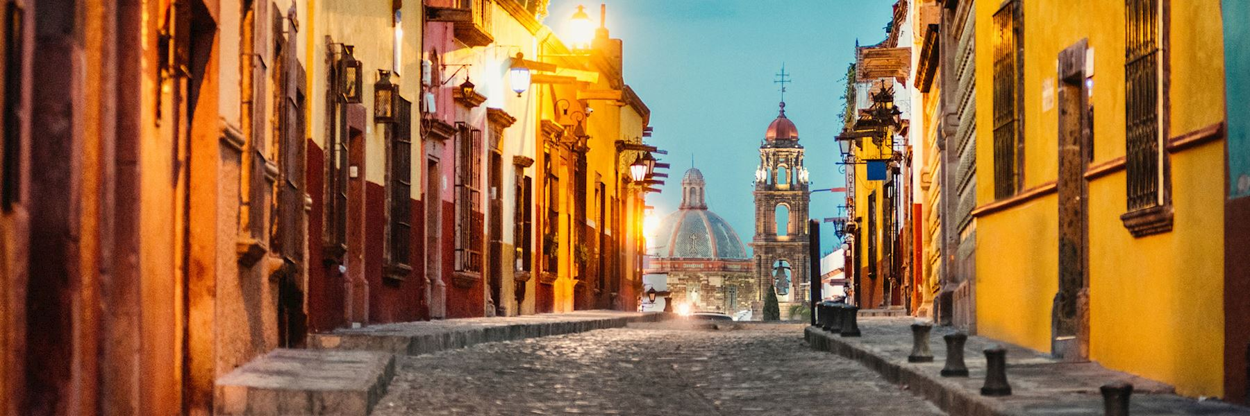 Visit the Colonial Cities, Mexico