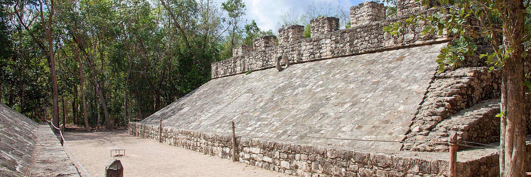 Visit Coba, Mexico