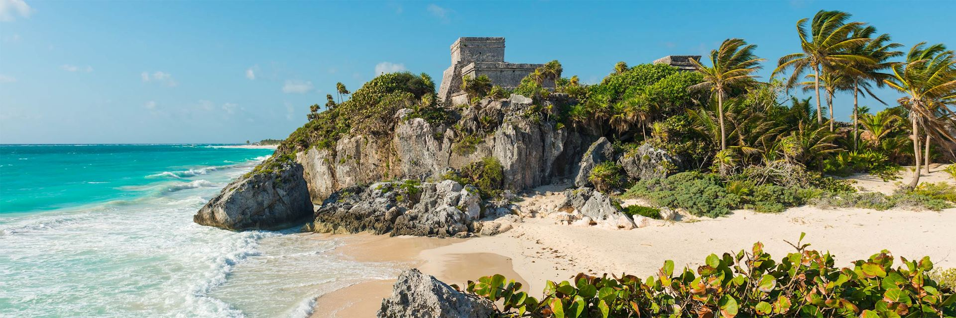 Tulum beach on the Mayan Riviera