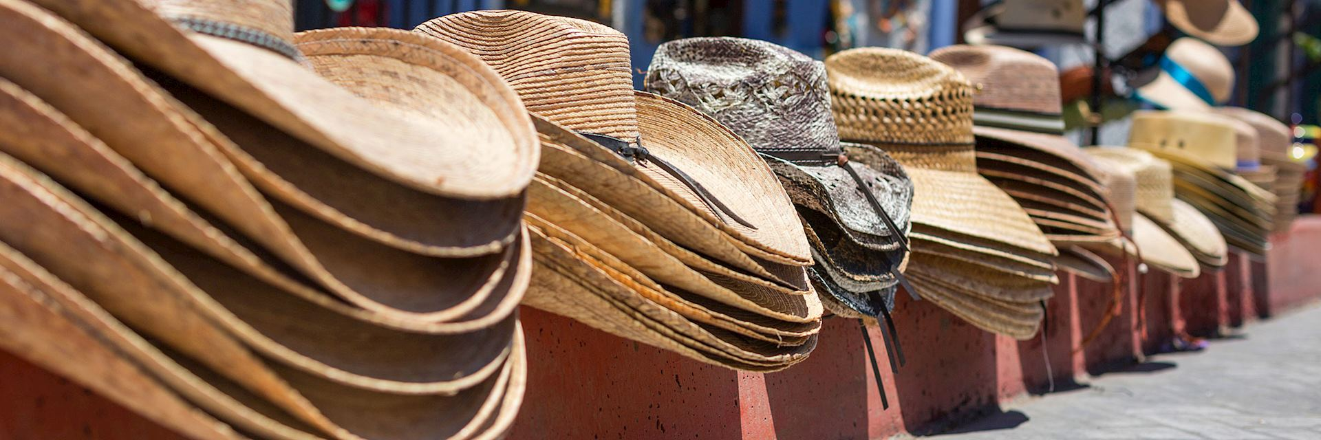 Hat stall in Todos Santos