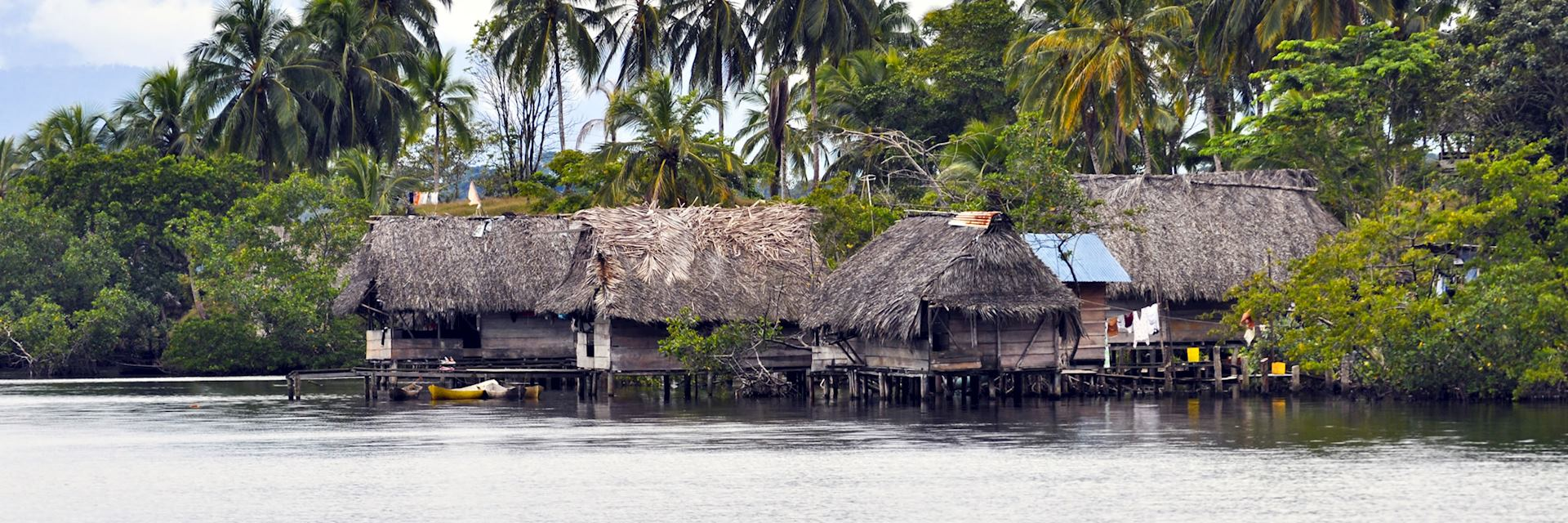 Indigenous Village near Bocas Del Toro