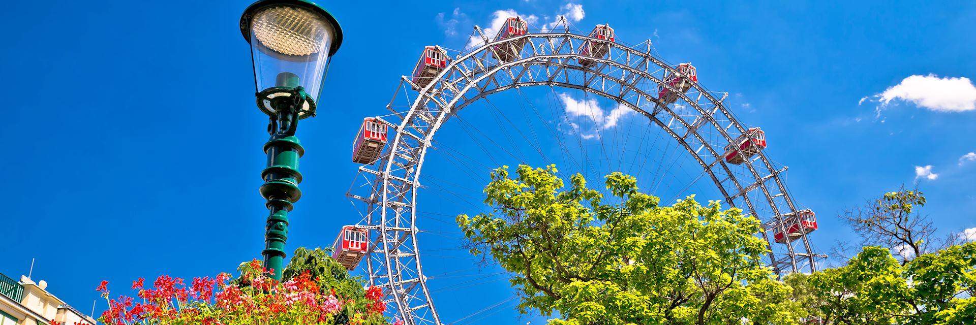 Prater Riesenrad ferris wheel in Vienna