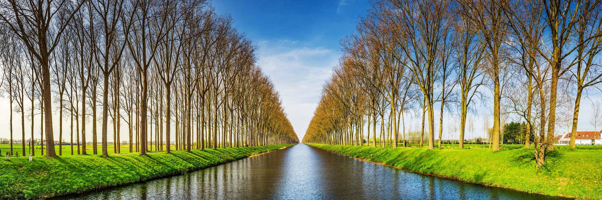 Damme Canal, Flanders, Belgium