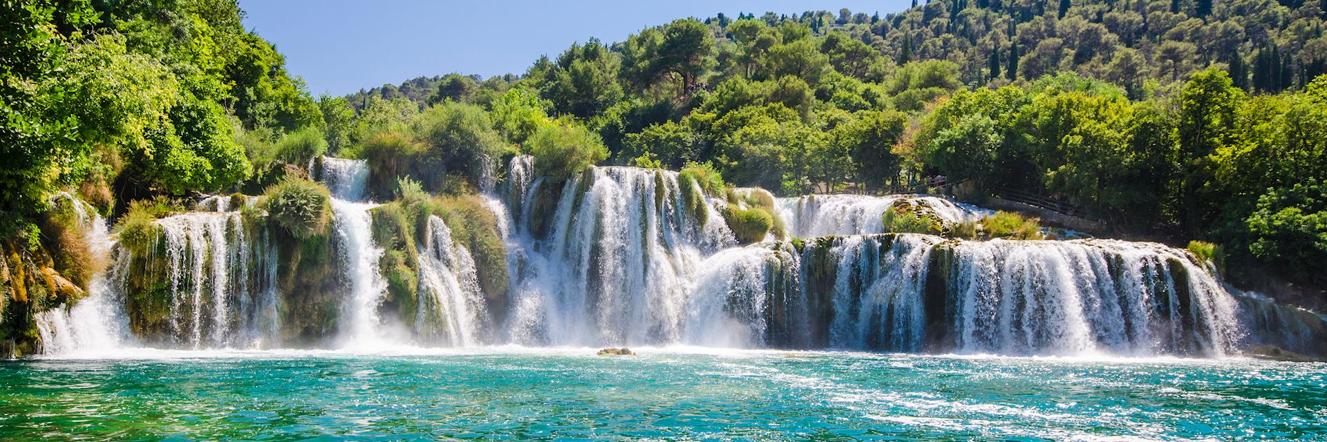 Krka river waterfalls, Dalmatia