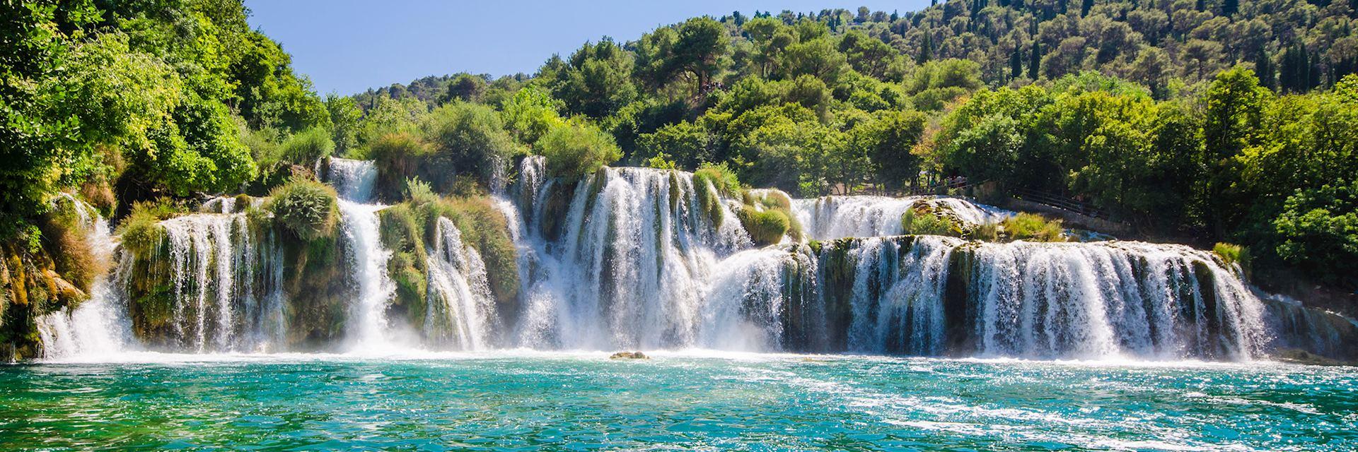 Krka river waterfalls, Dalmatia