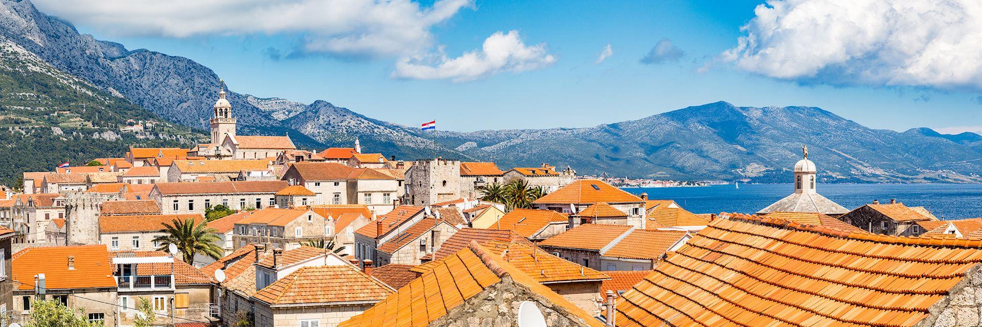 Town of Korčula, Croatia