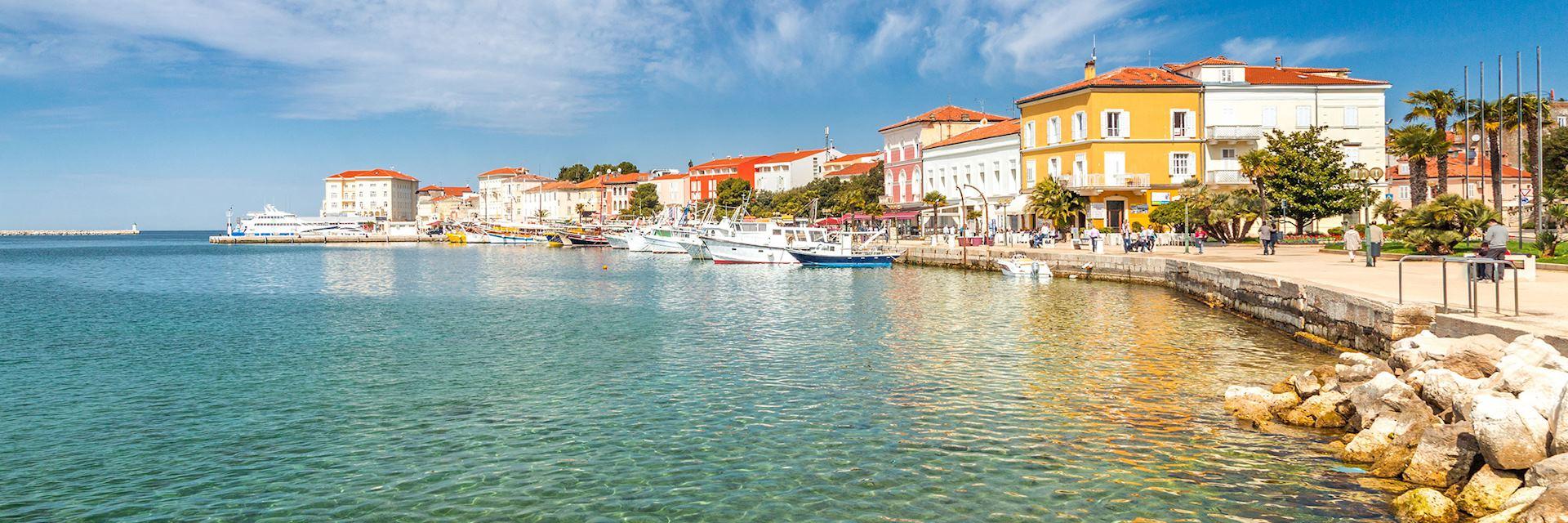 Porec town, Croatia