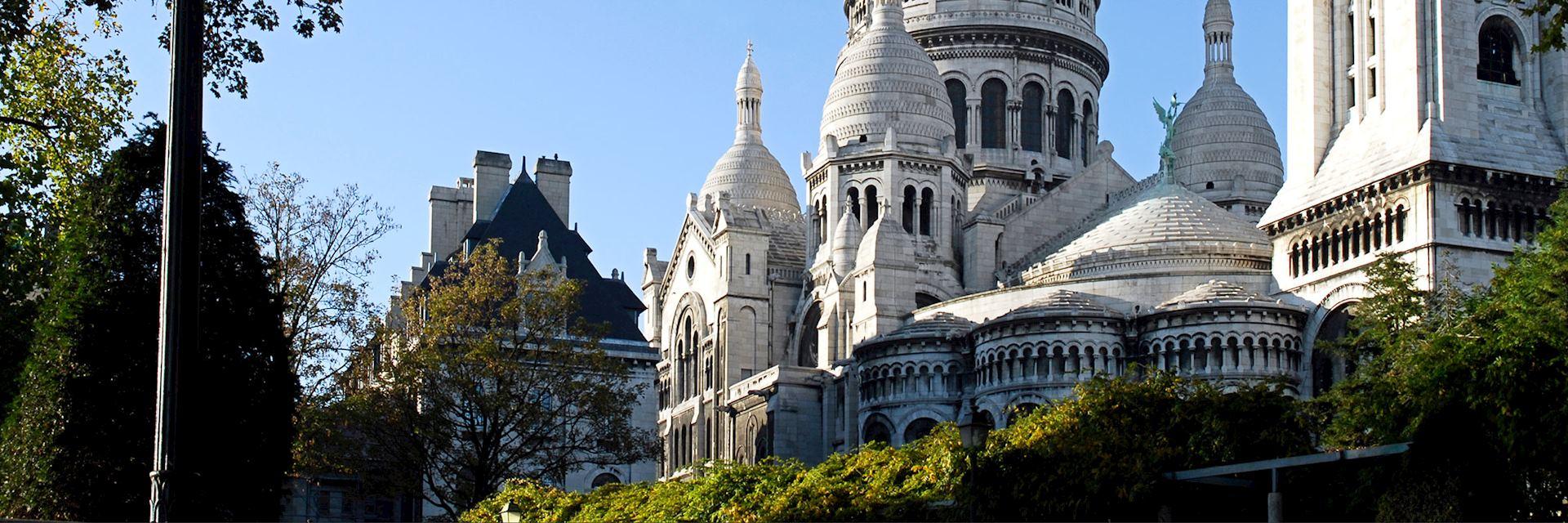 Sacré-Coeur in Montmartre, Paris