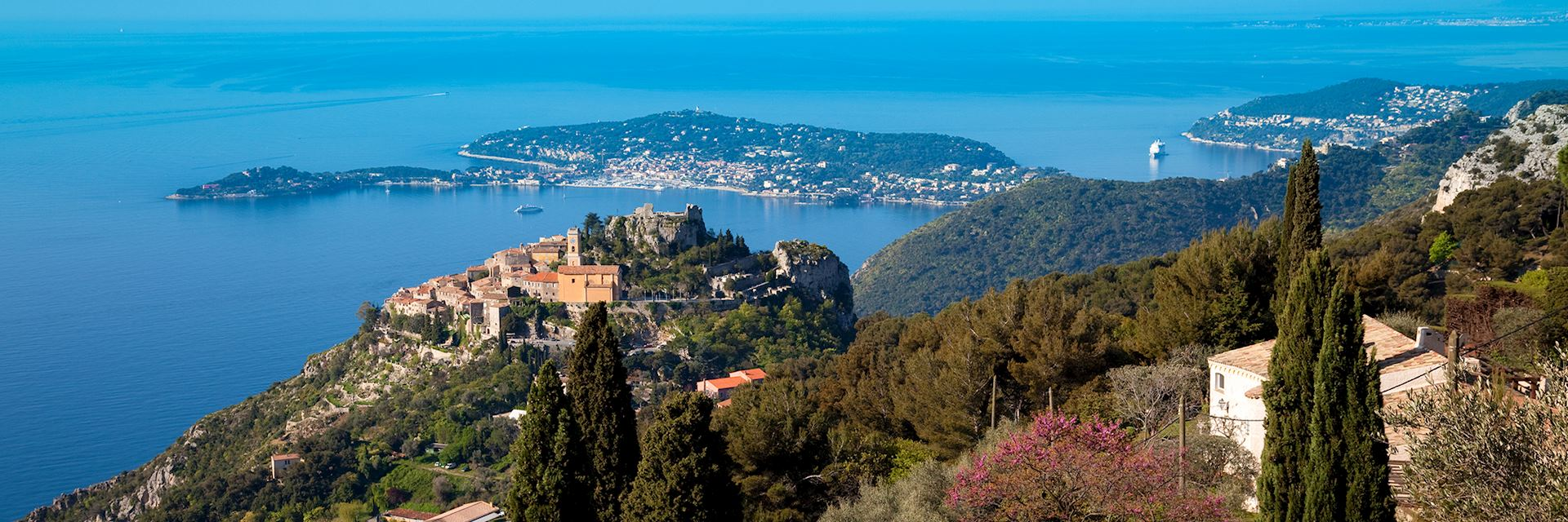 Eze Village and Saint Jean Cap Ferrat, France