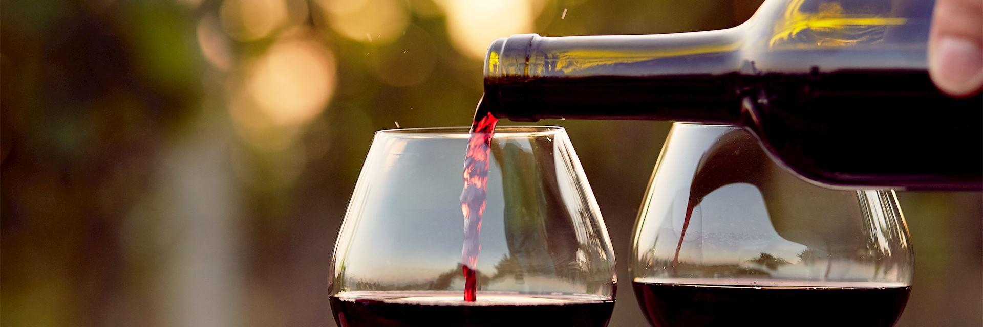 Burgundy wine, France