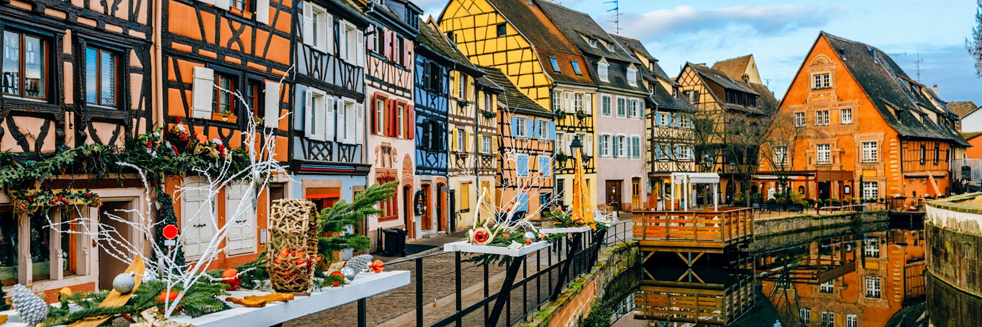 Houses in Petit Venice in Colmar, Alsace