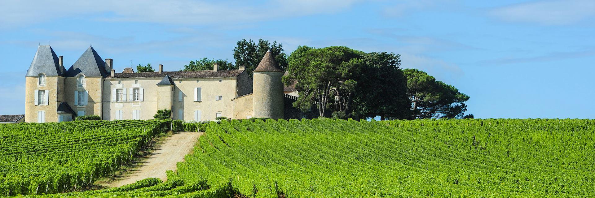 Château d'Yquem, Sauternes region