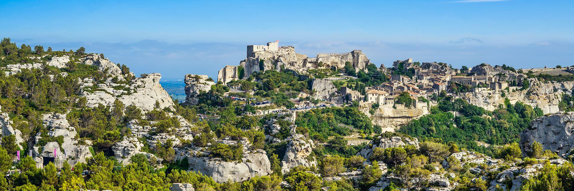 Les-Baux-de-Provence village