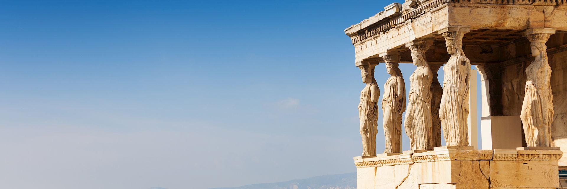 Erechtheion in Athens