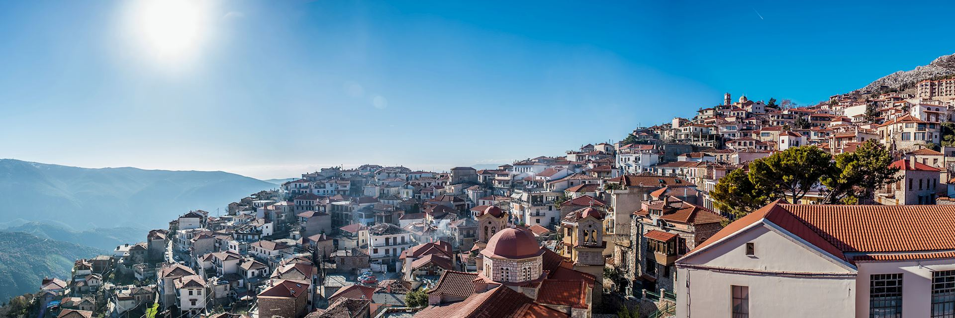 Arachova, Mount Parnassus, Greece