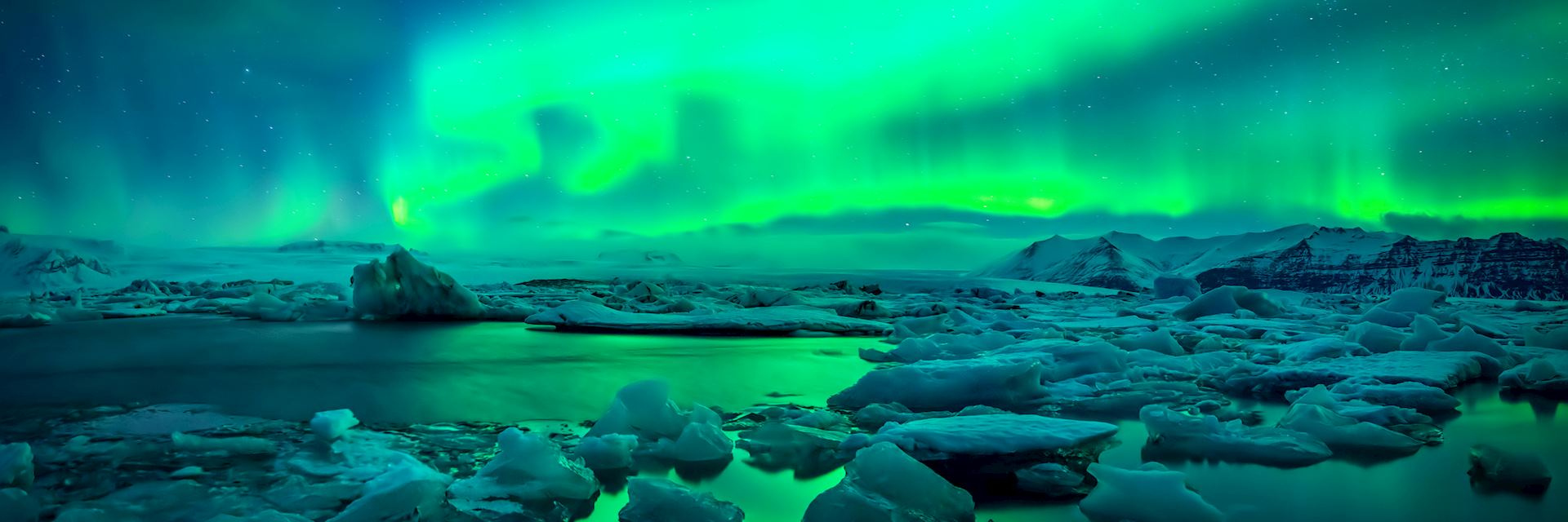 Northern lights, Iceland