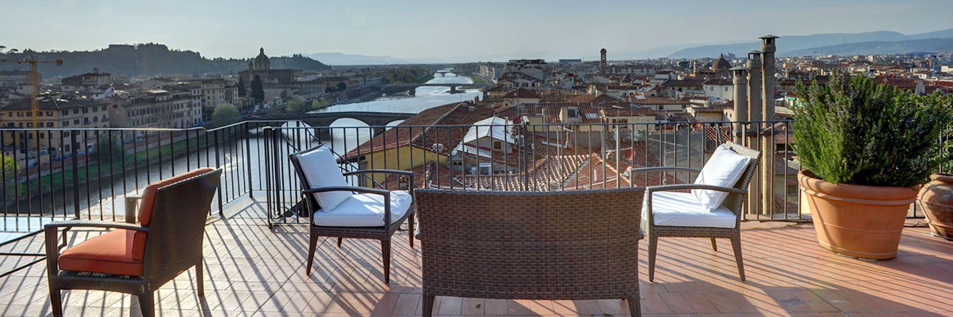 Rooftop terrace, Antica Torre di Via Tornabuoni