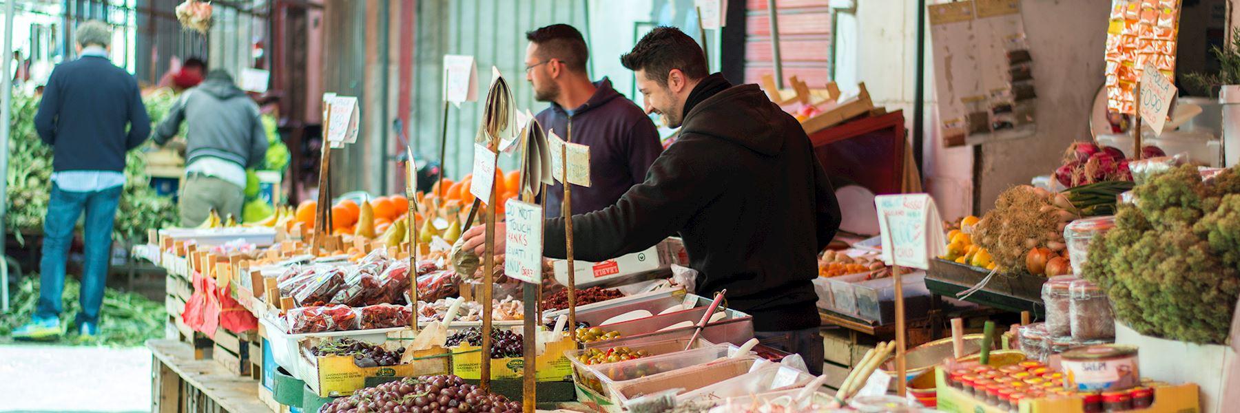 Street food city tour