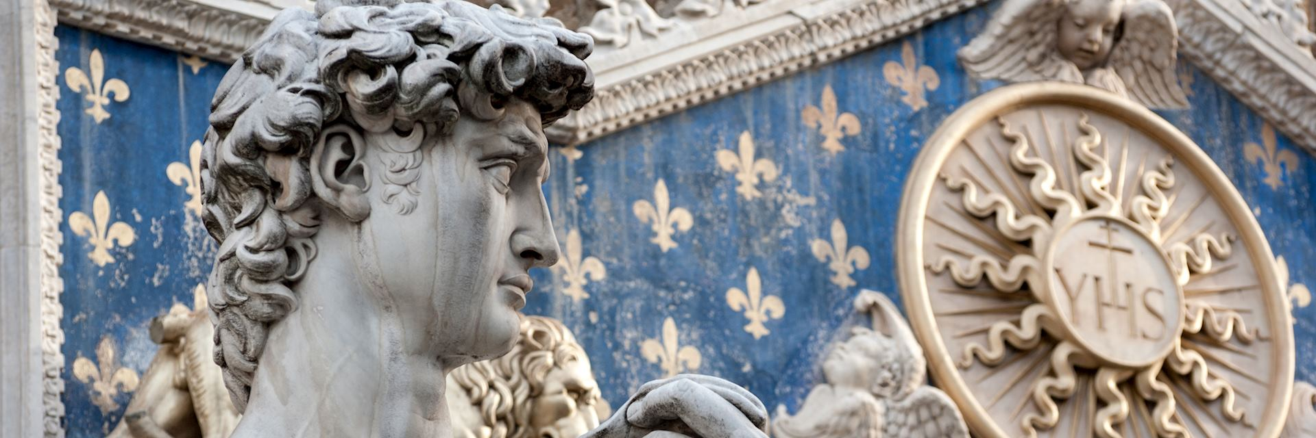 Michelangelo's statue of David, Florence