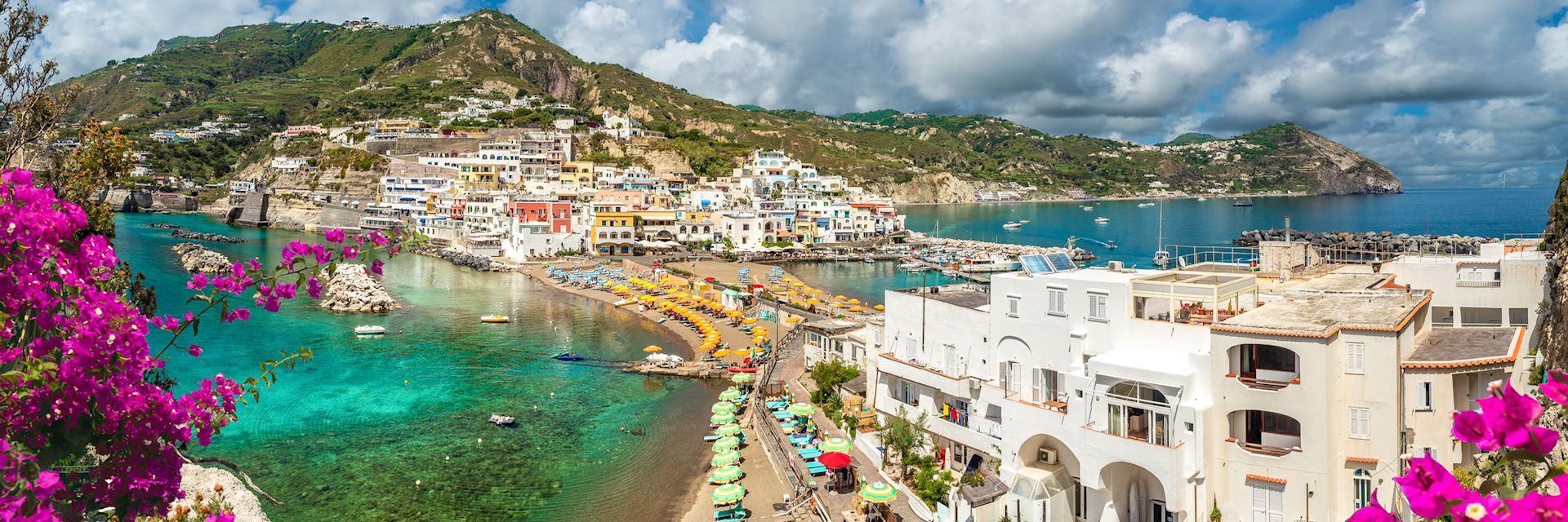 Coastal scenery of Ischia