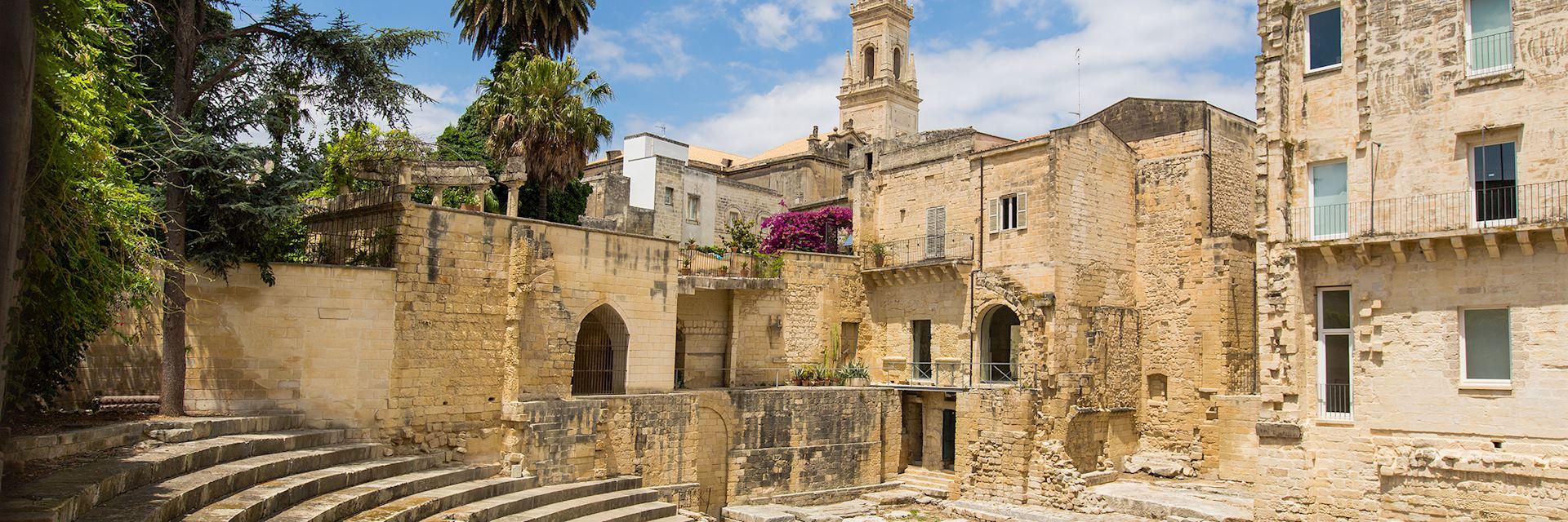 Roman amphitheatre, Lecce