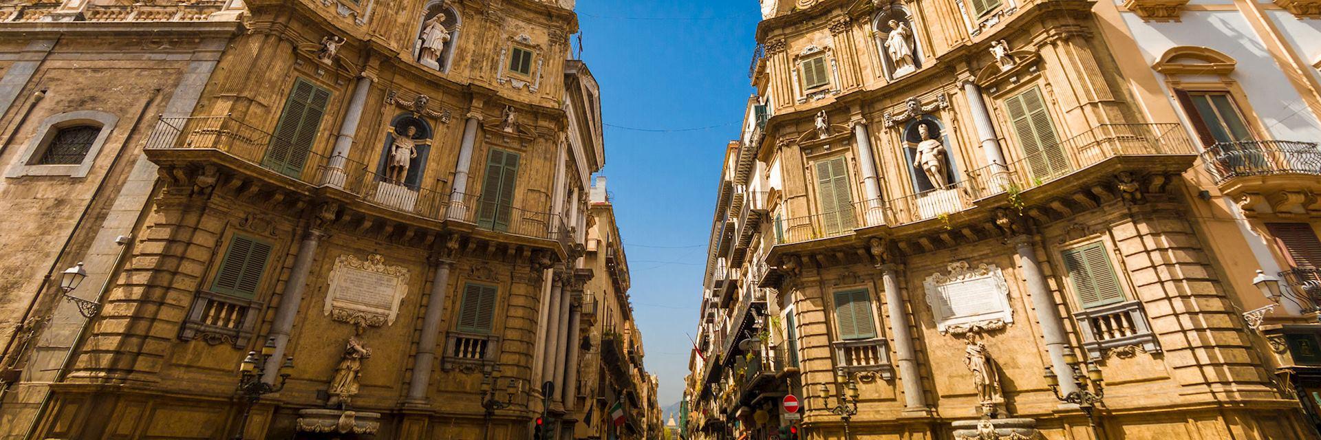 Quattro Canti Square, Palermo