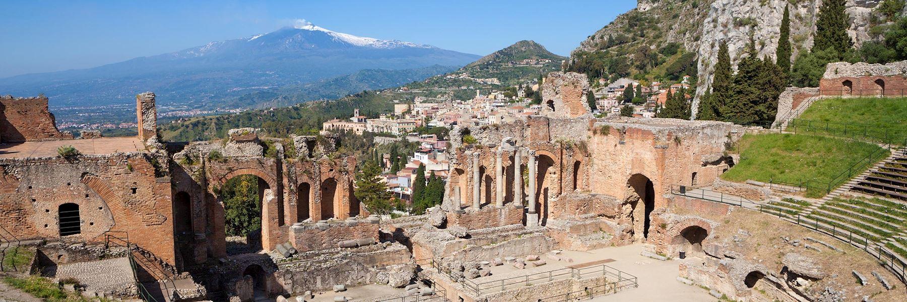 Visit Taormina, Italy
