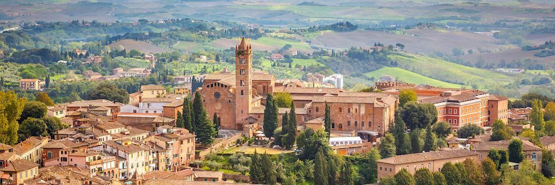 Siena in Tuscany