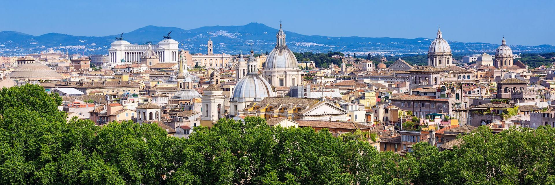View across Rome