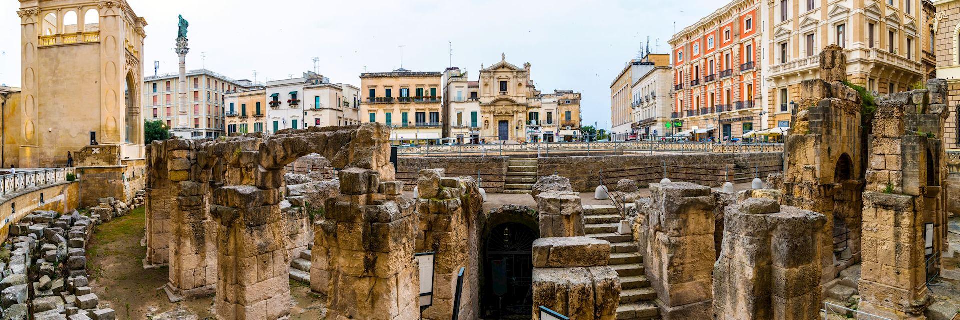 Roman amphitheatre in Lecce