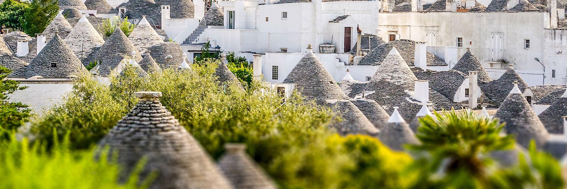 Alberobello in Puglia, Italy