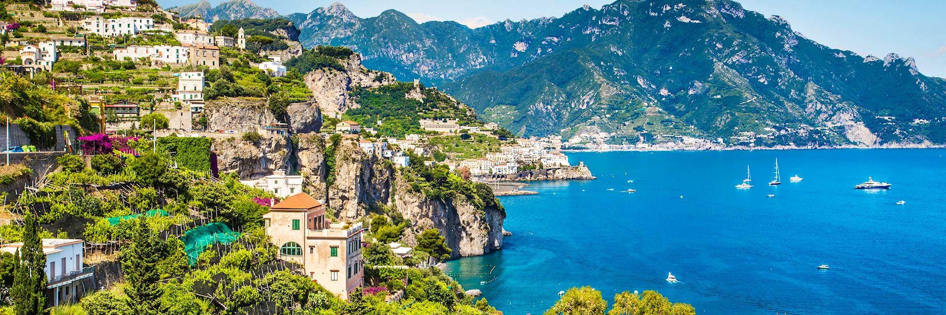 Capri coastline, Italy