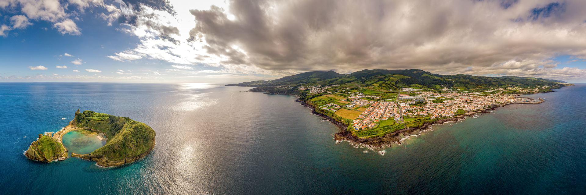Vila Franca do Campo in the Azores
