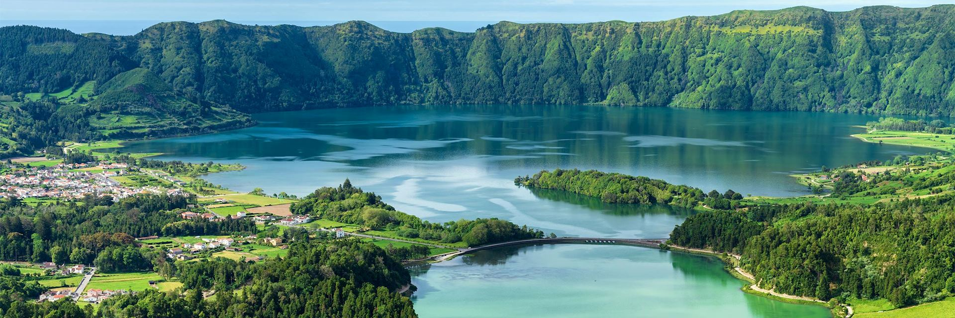 Twin lakes, Sete Cidades