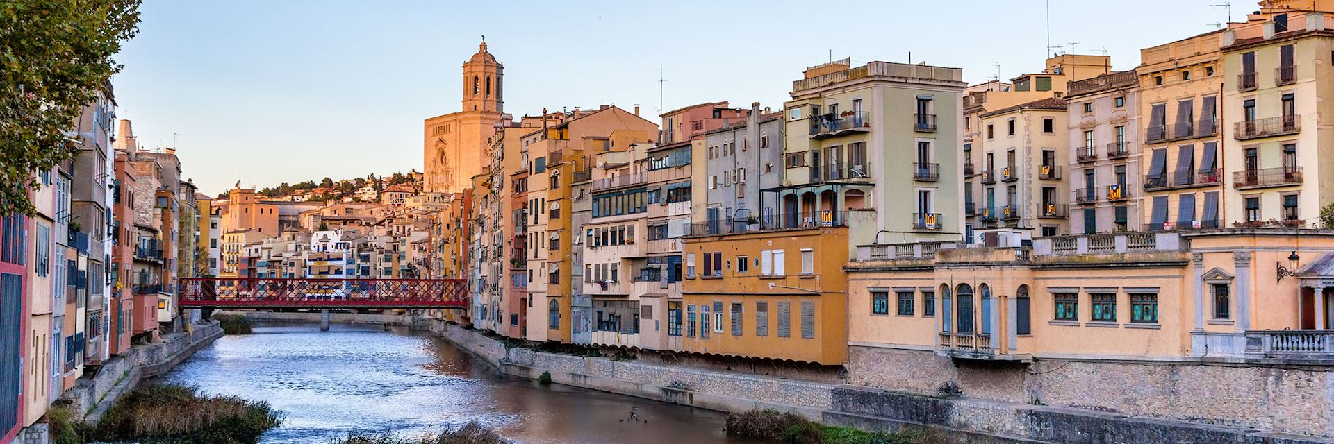 View of embankment, Girona