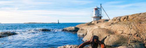 Swedish west coast lighthouse