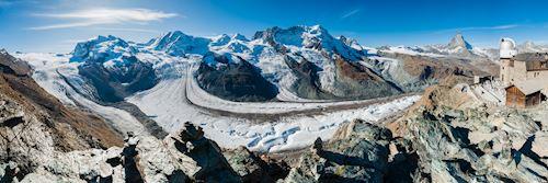 Gorner Glacier and Matterhorn